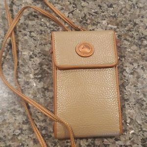 Vtg Dooney & Bourke Wearable Wallet